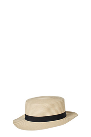 KHOKO BOATER HAT WITH TRIM KSH001