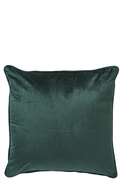 GENOA VELVET PIPING CUSHION 50X50CM