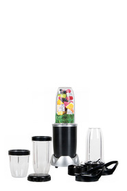 SMITH & NOBEL 12Pc Nutrient Blender Black 1000W