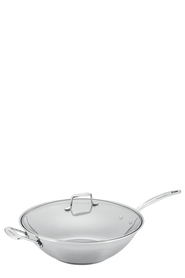 SCANPAN Impact Stainless Steel Covered Wok 32Cm