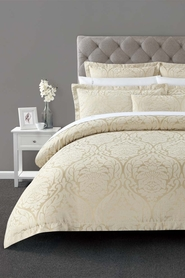 ELYSIAN Lansborough Jacquard Quilt Cover Set QB