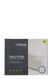 URBANE HOME Urbane Home 3 Step Fitted Electric Blanket Single
