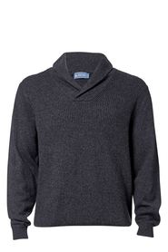 WEST CAPE CLASSIC Mens Classic Lambswool Blend Shawl Knit