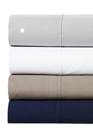 BELLA RUSSO 250 Thread Count Cotton Percale Sheet Set QB