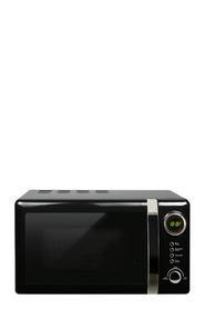 SMITH & NOBEL  20L Retro Microwave Black