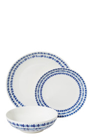 CASA DOMANI OCEANIC COUPE 12 PIECE DINNER SET