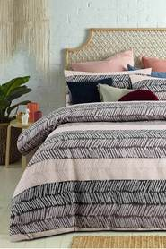 ACCESSORIZE Mezi Jacquard Quilt Cover Set QB