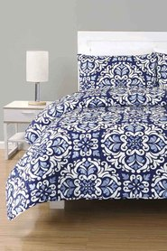 URBANE HOME Lucena Quilted Comforter Queen/King Bed