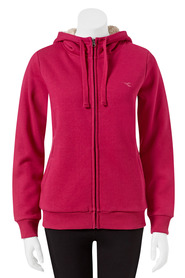 DIADORA Womens Fur Lined Zip Through Hoodie