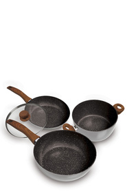 STONEDINE  4Pc Natures 28Cm Cookset