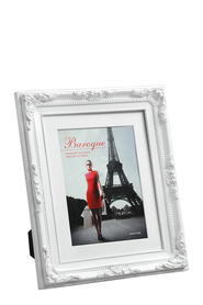 LIFESTYLE BRANDS Baroque 8X10inch White Photo Frame