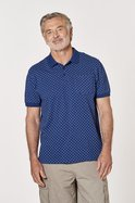 Anchor Print Jersey Polo