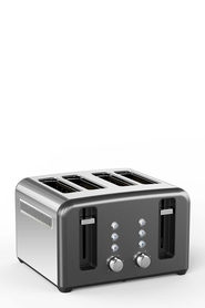SMITH & NOBEL 4 Slice Toaster Titanium