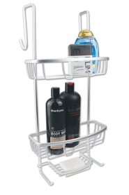 URBAN LINES Cove Over-The-Door Aluminium Caddy