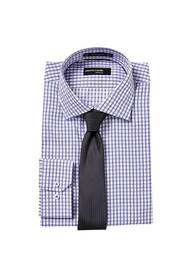PIERRE CARDIN 2 Colour Check Shirt