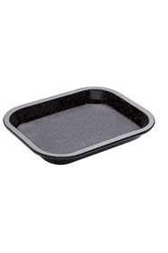 SMITH & NOBEL Professional Enamel Bakeware Roast Tray27X21Cm