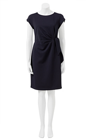 KHOKO SMART Side Tie Textured Dress