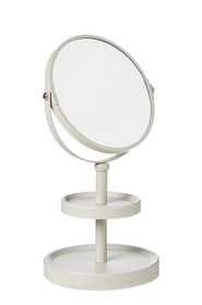 STORE & ORDER Loft Double Sided Mirror 2 Tier Latte