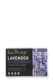 BAS PHILLIPS LAVENDER MEMORY FOAM PILLOW