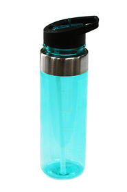 SMITH & NOBEL  Flip top drink bottle 600ml teal