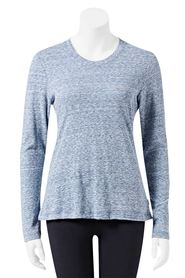 BONDS womens tri blend long sleeve tee