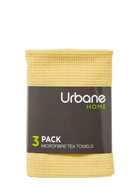 URBANE HOME Microfibre 3pc Tea Towel Set Green