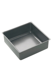 SMITH & NOBEL Professional Non Stick Bakeware Loose Base Square Pan 21X21Cm