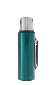 SMITH & NOBEL Stainless Steel Green Flask 1.2L
