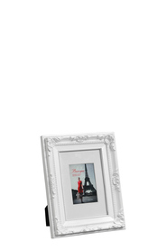 LIFESTYLE BRANDS Baroque 4X6inch White Photo Frame