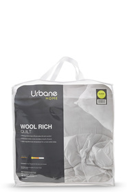 URBANE HOME 450Gsm Wool Rich Quilt Kb