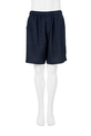 BRONSON LINEN PULL ON SHORT H64, NAVY, S