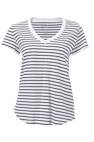 BONDS V Neck Stripe Tee