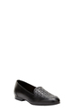 EASY STEPS PERFORATED LOAFER, BLACK, 36