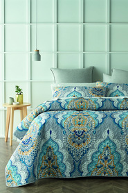 PHASE 2 Allison Quilted Coverlet Set QB/KB