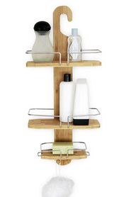 BUTLERS Alder Bamboo Shower Caddy