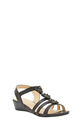 SAVANNAH  SANDAL  HOPE 3, BLACK, 6