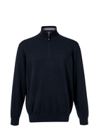 WEST CAPE CLASSIC MENS HALF ZIP COTTON STRETCH KNIT
