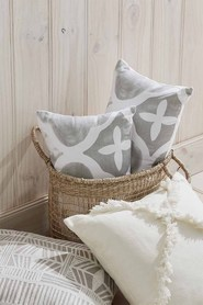 SHAYNNA BLAZE Zagora Cotton Cushion
