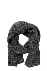 KHOKO CROSS CABLE KNIT SCARF