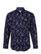 WEST CAPE CONTEMPORARY Soft Wash Printed Long Sleeve Shirt