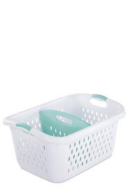 STERILITE Divided Laundry Basket 78L White