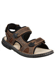 HUSH PUPPIES Wonder Leather Adjustable Sandal