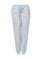 SASH & ROSE Woven Bow Tie Pant