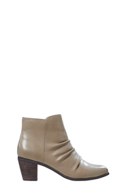 HUSH PUPPIES Candour Rouched Detail Leather Boot