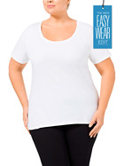 KHOKO BASICS Organic Cotton Yarn Tee    Plus Size