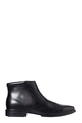 HP HARRY LEATHER DETAIL BOOT, BLACK, 11