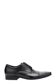 JULIUS MARLOW CROXTON STITCH DETAIL LEATHER LACE UP