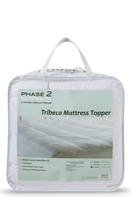 PHASE 2 Tribeca Embossed Mattress Topper Db
