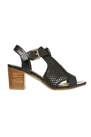 LAVISH Baley Perforated Detail Heel