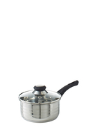 SMITH & NOBEL Traditions Stainless Steel Sauce Pan With Lid 16cm